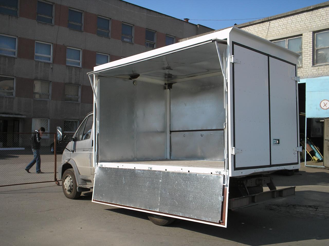Фургоны с трехсторонней разгрузкой