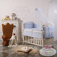 Комплект детский Принц голубой (ткань сатин)