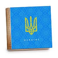 Шкатулка-книга на магните с 9 отделениями XL Герб України, фото 1