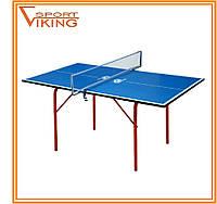 Теннисный стол GSI Junior Blue/Junior Green