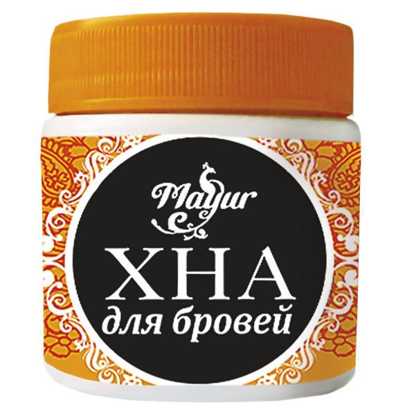 """Хна для бровей Черная от  ТМ """"Mayur"""",20г"""