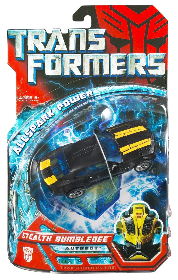 "Трансформер Стелс Бамблби ""Сила Искры"" - Stealth Bumblebee, All spark Power, Deluxe, Hasbro"