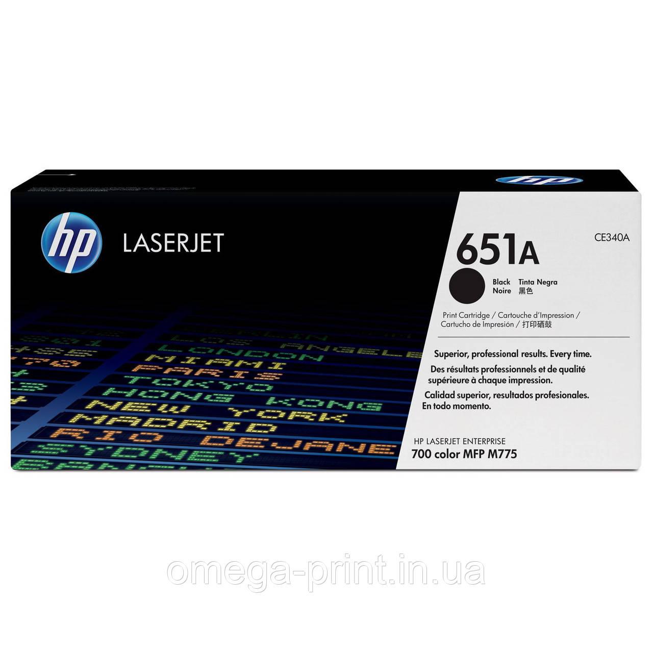 Картридж HP CLJ M775, (CE340A/651A), Black