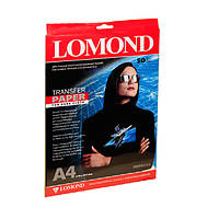 Термотрансферная Бумага Lomond для темных тканей 140г/м кв, А4, 50л (0808425)
