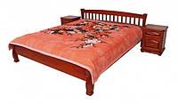 """Кровать """"Верона-2"""" из массива ольхи (Темп)"""