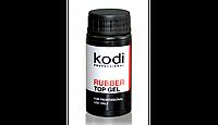 Kodi RUBBER TOP (КАУЧУКОВОЕ ВЕРХНЕЕ ПОКРЫТИЕ ДЛЯ ГЕЛЬ - ЛАКА )14 МЛ.