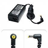 Блок питания19V 2.1A 40W 5.5*1.7 для Acer TRAVELMATE TMP246-M-598B,TMP256-M-39NG,B113, фото 2