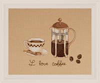 """Набор для вышивания """"Любитель кофе"""" XIU CRAFTS"""