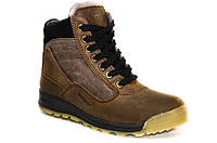 Зимние подростковые ботинки для мальчика из натуральной кожи., фото 1