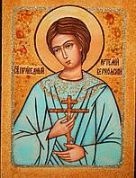 Икона из янтаря Святой Артемий Веркольский