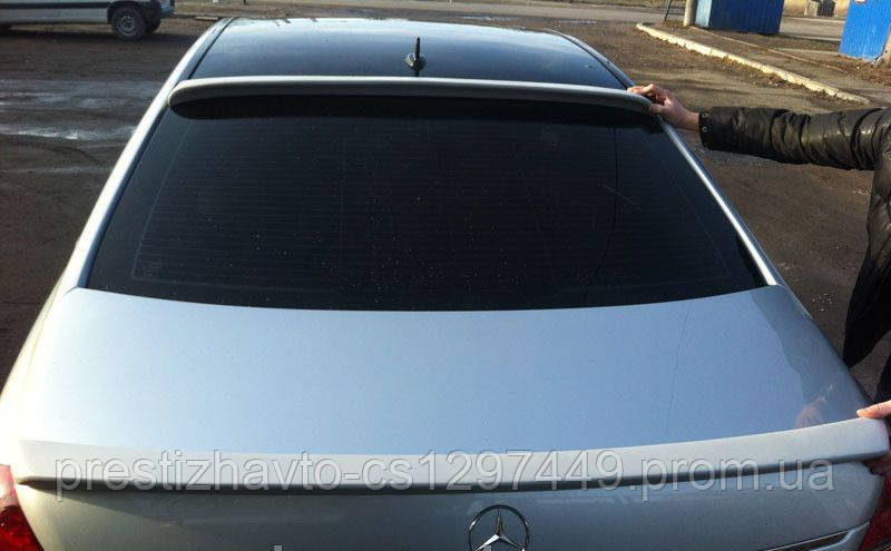 "Спойлер на заднее стекло в стиле ""Lorinser"" для Mercedes S-Сlass W221"