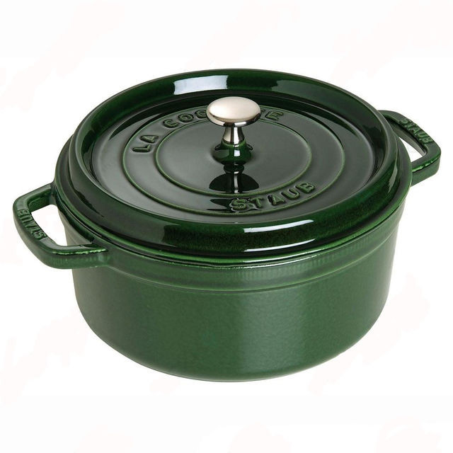 Кастрюля Staub 24 cм 3,8 л зеленая 1102485