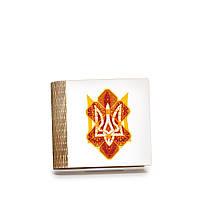 Шкатулка-книга на магните с 4 отделениями Вогняний герб