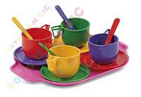 Набор  посуды с чайником 13 ел