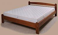 """Кровать """"Вега-2"""" из массива ольхи (Темп)"""