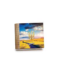 Шкатулка-книга на магните с 4 отделениями Пшеничне поле