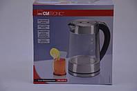 Электрический чайник Clatronic WK 3501 G стеклянный 1,7 л Германия Хит продаж