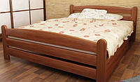 """Кровать """"Вега-3"""" из массива ольхи (Темп)"""