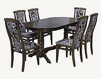 Комплект стол и стулья Меридиан раскладной