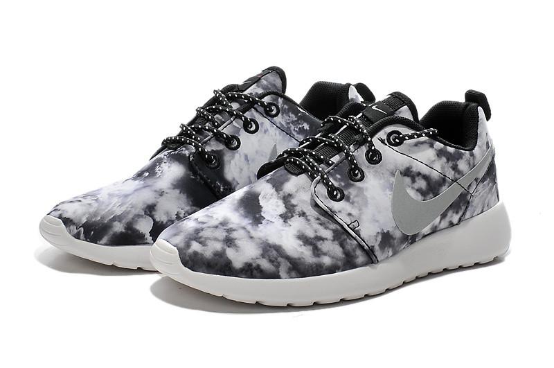 Кроссовки женские Nike Roshe Run Print / RRW-236 (Реплика)