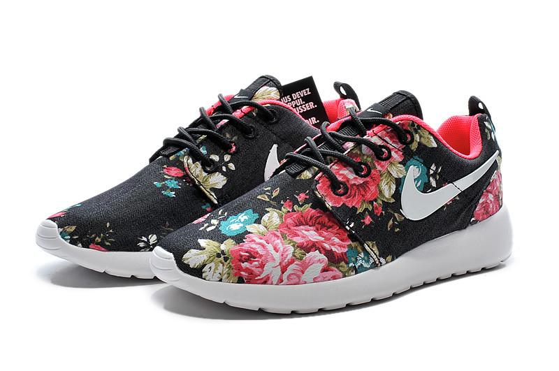 Кроссовки женские Nike Roshe Run Print / RRW-237 (Реплика)