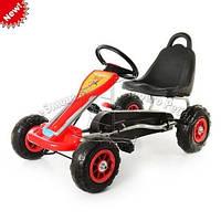 Педальная машина детский веломобиль Карт M 1564-3