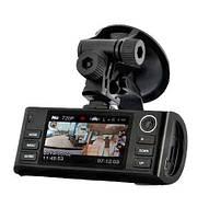 Видеорегистраторы. Автомобильный видеорегистратор F60 GPS. Для водителей, дорожные аксессуары.