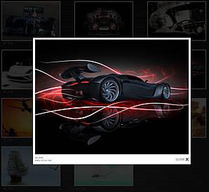 Бесшовные  фотообои гоночная машина 21_115