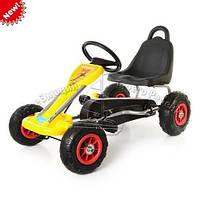 Педальная машина детский веломобиль Карт M 1564-6