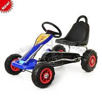 Педальная машина детский веломобиль Карт M 1564-4