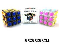 Развивающая игрушка кубик Рубика, 2 цвета микс, YJ8303