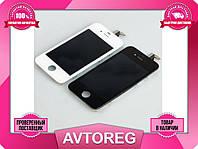 Модуль LCD + Touchscreen Apple iPhone 4/4S черный