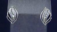 Серьги серебро 925 пробы АРТ381, фото 1