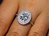 Кольцо серебро 925 проба 17 размер АРТ1191, фото 1