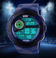 Кварцевые спортивные часы Skmei  (blue)