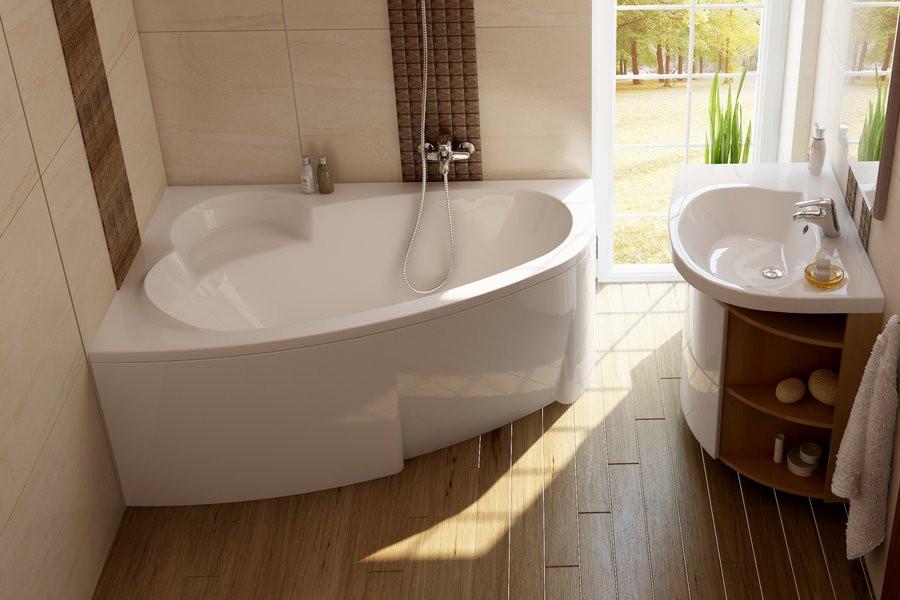 Ванна RAVAK Asymmetric 160x105 L/R