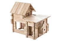 Конструктор деревянный - Коттедж 4 варианта