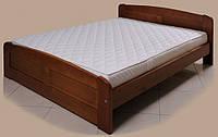 """Кровать """"Лира-1"""" из массива ольхи (Темп)"""