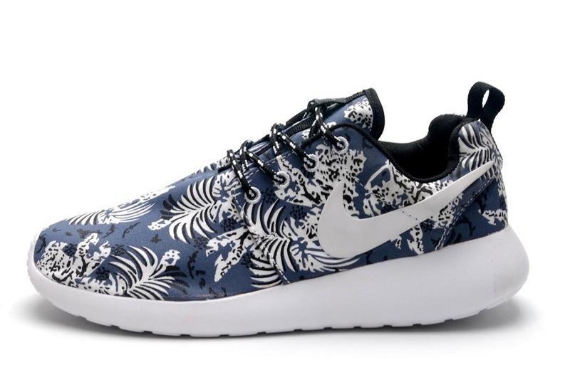 Кроссовки женские Nike Roshe Run Print / RRW-254 (Реплика)