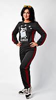 """Стильный женский спортивный костюм """"114"""" Размеры 44,46."""