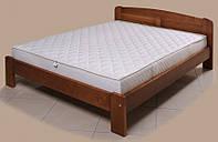 """Кровать """"Лира-2"""" из массива ольхи (Темп)"""