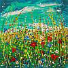 «Цветы радости» картина маслом