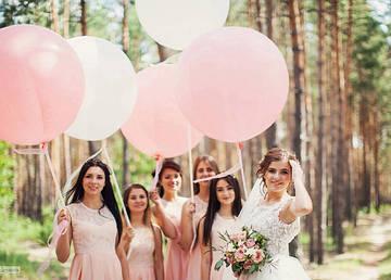Кульки - гіганти для весілля