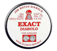 Пули JSB Exact Diabolo 0.547-4.51, вес 0,547г, пули для пневматического оружия.