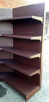 """Стеллажи б/у """"Вико"""" Шоколад. Длина 1.25 метра., фото 1"""