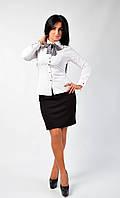 Оригинальная блуза с галстуком, фото 1