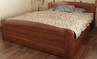 """Кровать """"Лира-3"""" из массива ольхи (Темп)"""