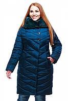 Женская зимняя куртка Мария с мехом 44-58 рр