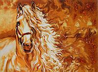 Картина из янтаря Лошадь