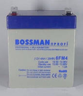 Аккумулятор Bossman 12V 4Ah